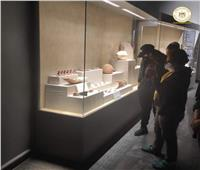 متحف كفرالشيخ يستقبل أعضاء هيئة تدريس الجامعة الأمريكية |صور