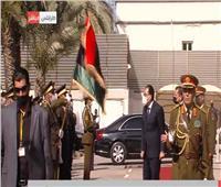 مراسم استقبال رسمية لرئيس الوزراء في العاصمة الليبية طرابلس
