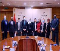 وفد تنسيقية شباب الأحزاب ووزيرة التضامن يبحثان جهود العمل المشترك