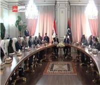 الاتفاق على بدء التحضير للاجتماعات المقبلة للجنة العليا المشتركة بين مصر وليبيا