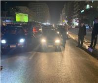 حملة مرورية مكبرة بشوارع أسوان وثبوت إيجابية تحليل المخدرات لـ3 سائقين