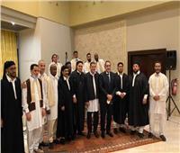 حكومة الوحدة الوطنية الليبية تقيم مأدبة إفطار لرئيس الوزراء والوفد المرافق