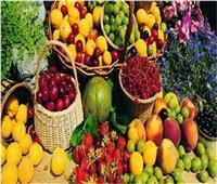 أسعار الفاكهة في سوق العبور تاسع أيام شهر رمضان المبارك