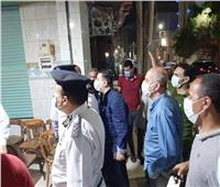 11 ألف و803  يسددون غرامات عدم ارتداء الكمامات وإحالة مخالفات الشيشة للنيابة
