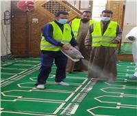 تعقيم 7 مساجد بمركز الخارجة في الوادي الجديد| صور