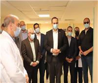 تنفيذ 80% من أعمال الإنشاء لمبنى الجناح البحري بمستشفى السلام بورسعيد