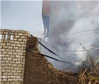 السيطرة على حريق في 3 منازل عشوائية بالعمار في «القليوبية»| صور