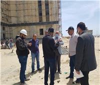 «المجتمعات العمرانية» تتابع تنفيذ مشروعات مدينة المنصورة الجديدة