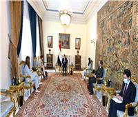 الرئيس السيسي: البنك الأوروبي شريك نجاح للتنمية في مصر