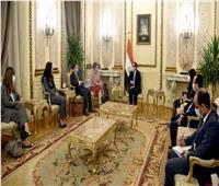 رئيس الوزراء يلتقى رئيسة البنك الأوروبى لإعادة الإعمار والتنمية