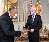 رسالة هامة من الرئيس السيسي لنظيره التونسي