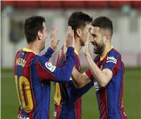 شاهد| «ميسي» يقود برشلونة لقهر خيتافي بخماسية في «الليجا الإسبانية»