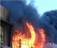 السيطرة علىحريق داخل مصنع مراتب بالقليوبية