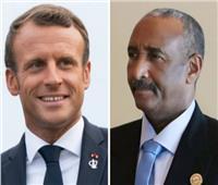 رئيس مجلس السيادة السوداني يلتقي الرئيس الفرنسي ماكرون