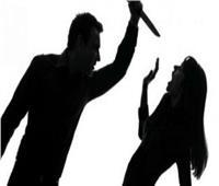 قاتل زوجته في الوراق بـ17 طعنة يمثل جريمته أمام النيابة بموقع الحادث
