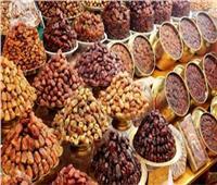 أسعار البلح مع اليوم الـ12 من أيام شهر رمضان