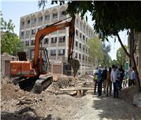 محافظ الأقصر يتفقد تبطين الترع ومشروعات الصرف بـ3 قرى