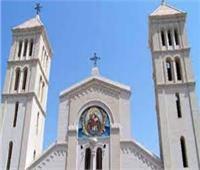 أمن المنيا يكثف جهوده بمحيط الكنائس لتأمين قداس أحد السعف