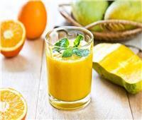 عصائر رمضان | طريقة عمل عصير المانجو بالبرتقال في المنزل