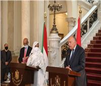 تأجيل لقاء سامح شكري مع وزيرة الخارجية السودانية