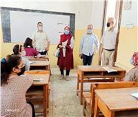 انتظام امتحانات النقل بمدارس شبين الكوم التعليمية