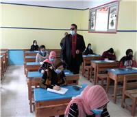 انتظام امتحانات النقل وسط إجراءات احترازية بدمياط