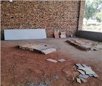 تعدي صارخ بردم جزء من النيل لإنشاء قاعة أفراح في محافظة قنا