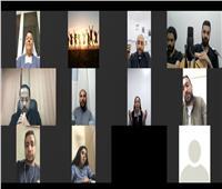 «الأنبا باخوم» يجتمع بمسؤولى اجتماعات الشباب بالإيبارشية البطريركية
