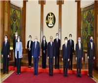 الرئيس يستقبل الخبراء اليابانيين المشرفين على منظومة المدارس اليابانية