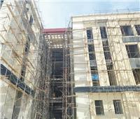 تكثيف العمل بجامعة المنصورة للانتهاء من مشروعات المرحلة الأولى في مواعيدها