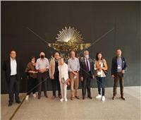 بالصور.. متحف الحضارة يستقبل مشاهير و سياسيون