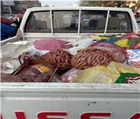 الجيزة: ضبط ٢١ طن لحوم وأسماك ودواجن غير صالحة للاستهلاك الآدمي