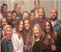 ريهام حجاج تحتفل بانتهاء تصوير «وكل ما نفترق».. صور