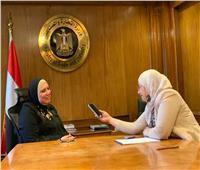 وزيرة الصناعة تكشف أسرارا عن حياتها الشخصية في «ضيفة إفطار الشرق الأوسط»
