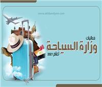 إنفوجراف| فعاليات وزارة السياحة لعام 2021
