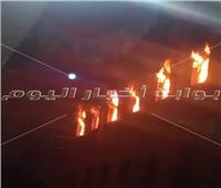 حريق بإحدى كنائس منطقة العمرانية.. والحماية المدنية تدفع بـ3 سيارات