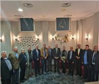 سفير وقنصل مصر بروما يقيمان حفل إفطار للجالية المصرية بإيطاليا