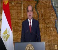 الرئيس السيسي: المشروعات العملاقة شاهدة على أصالة الإبداع وصلابة المصريين