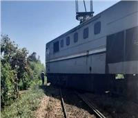 السكة الحديد تكشف تفاصيل خروج قطار المنصورة عن القضبان