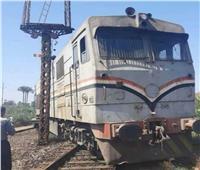 «السكة الحديد» تكشف تفاصيل خروج قطار المنصورة عن القضبان