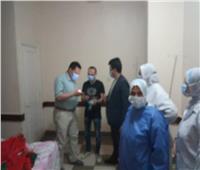 دعم مستشفى سرس الليان بـ200 إسطوانة أكسجينبالمنوفية