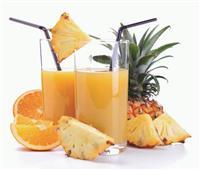 مشروبات الرمضانية   طريقة عمل عصير البرتقال بالأناناس