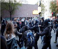 شرطة ألمانيا تشتبك مع محتجين يحتفلون بعيد العمال