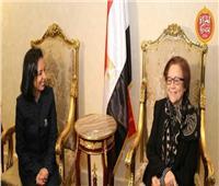 مايا مرسي تتمنى الشفاء العاجل للمناضلة الجزائرية «جميلة بوحيرد»