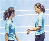 الشقيقتان ياسمينا وهايدى تتحديان ملاعب اليد العالمية