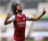 أرتيتا يشيد بـ«النني» بعد تسجيله هدف فوز أرسنال على نيوكاسل