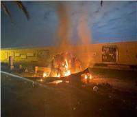 سقوط صاروخ نوع كاتيوشا قرب مطار بغداد الدولي