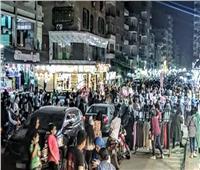 دون إجراءات احترازية.. ازدحام في شوارع الطالبية بالجيزة |صور