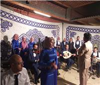 «ثقافة أبوتيج» تشهد احتفالية رمضانية بقرية النخيل