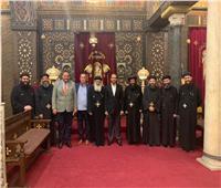 سفير الإمارات يزور منطقة «كنائس» مصر القديمة